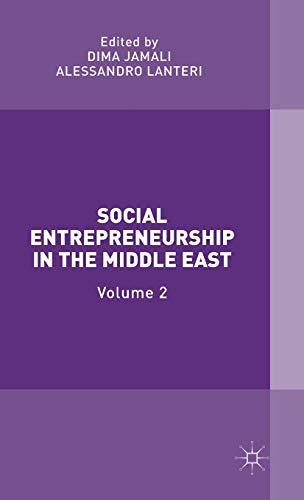 Social Entrepreneurship in the Middle East: Volume 2: Palgrave Macmillan