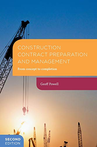 9781137511140: Construction Contract Preparation and Management: From concept to completion