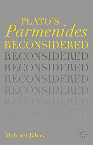 9781137515353: Plato's Parmenides Reconsidered