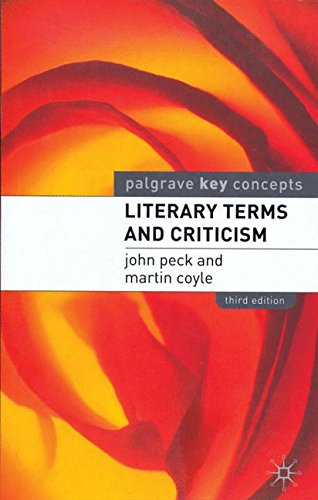 9781137519061: Literary Terms and Criticism (Palgrave Key Concepts)