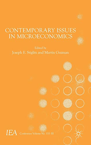 9781137529701: Contemporary Issues in Microeconomics (International Economic Association Series)
