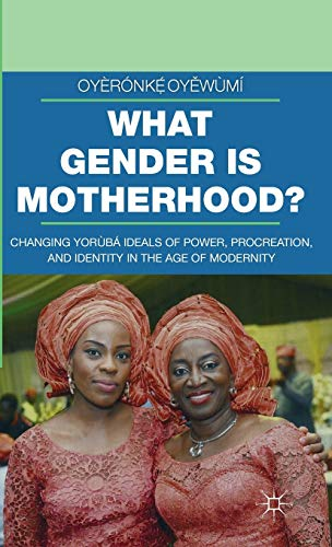 9781137538772: What Gender is Motherhood?: Changing Yorùbá Ideals of Power, Procreation, and Identity in the Age of Modernity (Gender and Cultural Studies in Africa and the Diaspora)