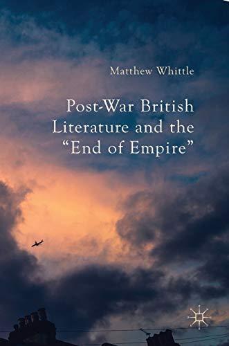 9781137540133: Post-War British Literature and the