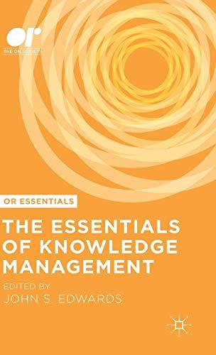 9781137552082: The Essentials of Knowledge Management (OR Essentials)