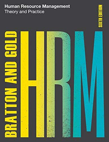 9781137572592: Human Resource Management: Theory and Practice