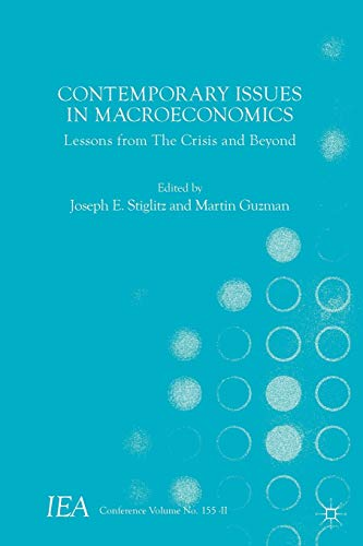9781137579331: Contemporary Issues in Macroeconomics: Lessons from The Crisis and Beyond (International Economic Association Series)