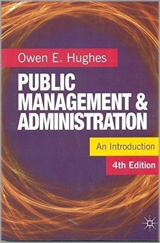9781137582324: Public Management & Administration An Introduction