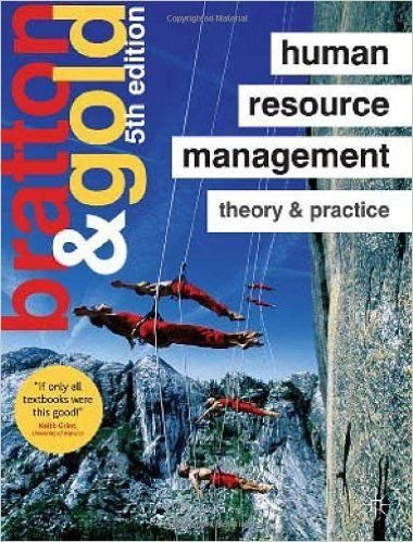 9781137582355: Human Resource Management Theory & Practice