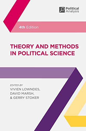 9781137603517: Theory and Methods in Political Science