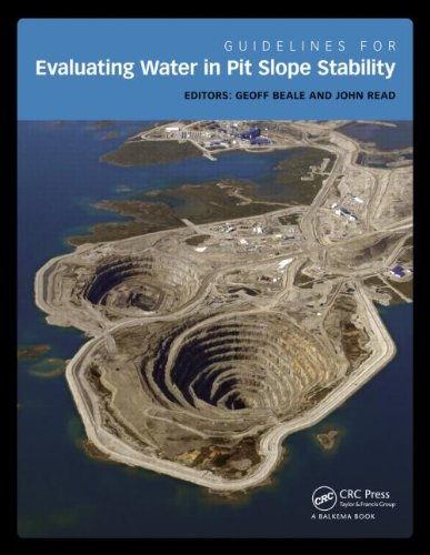 9781138001343: Guidelines for Evaluating Water in Pit Slope Stability