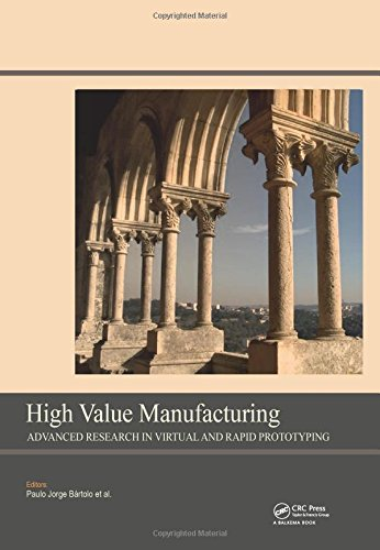 High Value Manufacturing: Advanced Research in Virtual: Paulo Jorge da