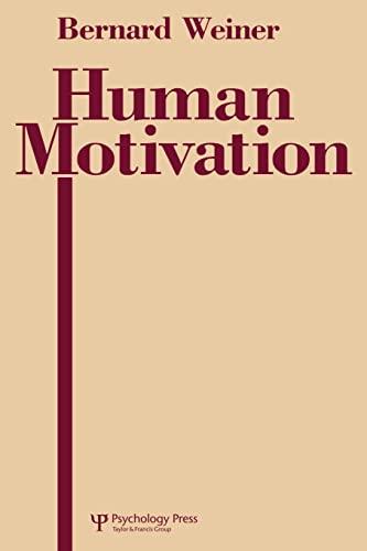 9781138002432: Human Motivation