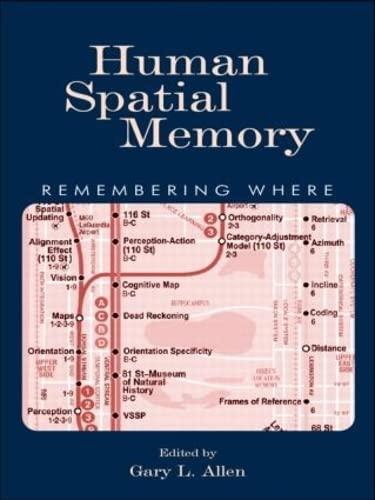 9781138003767: Human Spatial Memory: Remembering Where