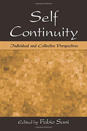 9781138004245: Self Continuity: Individual and Collective Perspectives