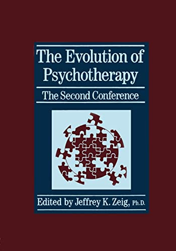 9781138004955: The Evolution Of Psychotherapy: The Second Conference