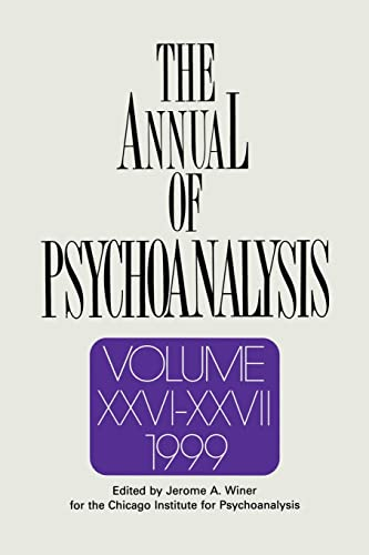 9781138005471: The Annual of Psychoanalysis, V. 26/27