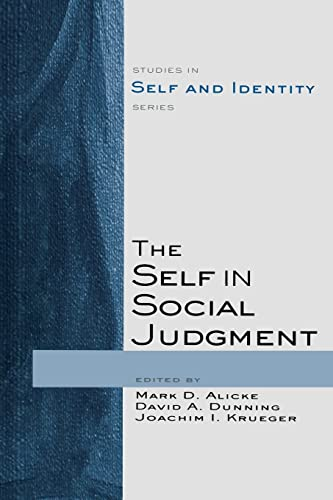 9781138006102: The Self in Social Judgment (Studies in Self and Identity)