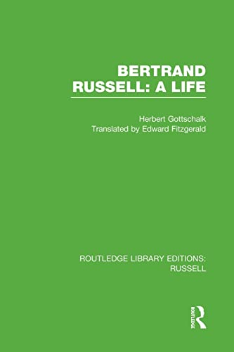 9781138008182: Bertrand Russell: A Life (Routledge Library Editions: Russell)