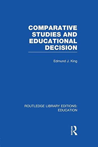 Comparative Studies and Educational Decision