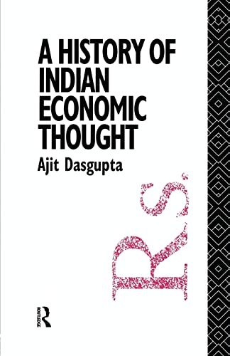 9781138009288: A History of Indian Economic Thought (The Routledge History of Economic Thought)