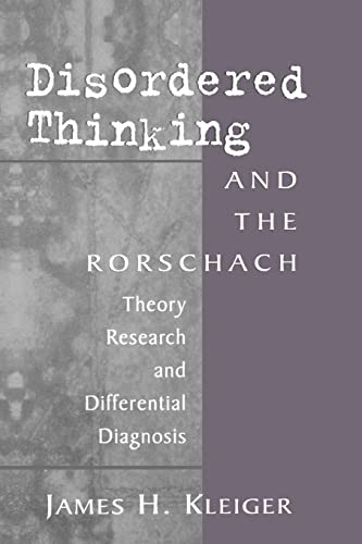 9781138009769: Disordered Thinking and the Rorschach: Theory, Research, and Differential Diagnosis