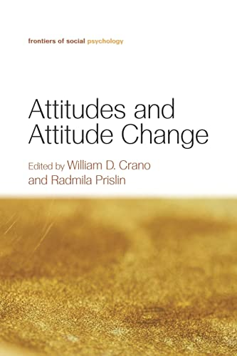 9781138010017: Attitudes and Attitude Change (Frontiers of Social Psychology)