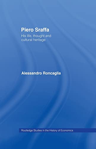 9781138010086: Piero Sraffa: His Life, Thought and Cultural Heritage (Routledge Studies in the History of Economics)