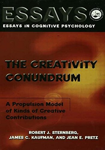 9781138011991: The Creativity Conundrum: A Propulsion Model of Kinds of Creative Contributions (Essays in Cognitive Psychology)