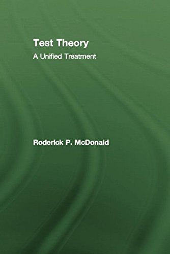 9781138012547: Test Theory: A Unified Treatment