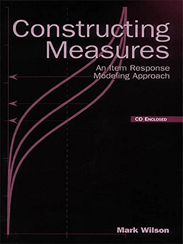 9781138012813: Constructing Measures: An Item Response Modeling Approach