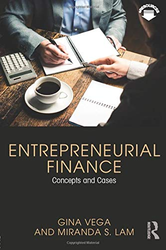 Entrepreneurial Finance, Gina Vega
