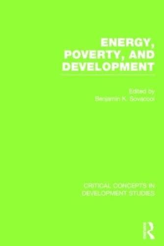 Energy, Poverty, and Development (Hardback)