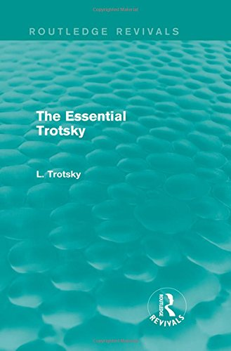 9781138015173: The Essential Trotsky (Routledge Revivals)
