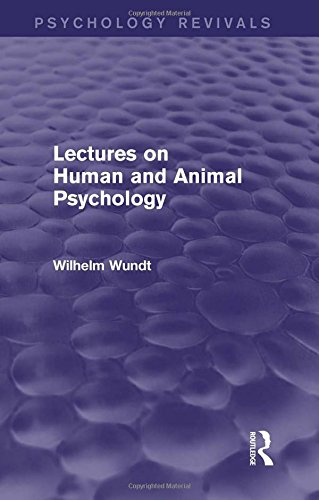 9781138017870: Lectures on Human and Animal Psychology (Psychology Revivals)