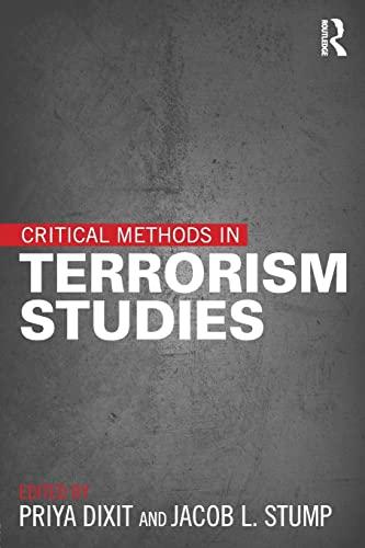 9781138018723: Critical Methods in Terrorism Studies
