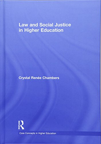 9781138021167: Law and Social Justice in Higher Education (Core Concepts in Higher Education)