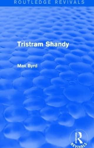 9781138023857: Tristram Shandy (Routledge Revivals)