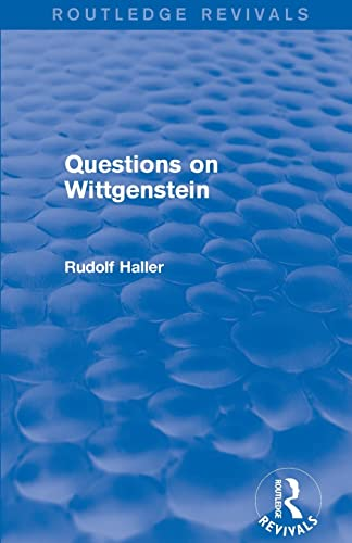 9781138025219: Questions on Wittgenstein (Routledge Revivals)
