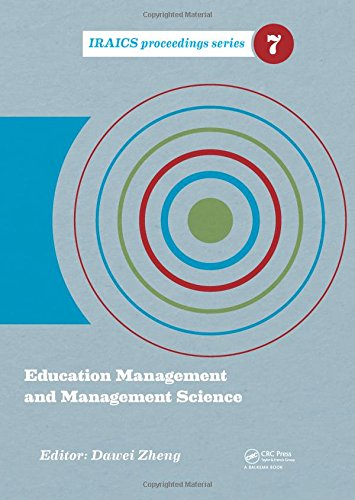 Education Management and Management Science; Proceedings of the International Conference on ...