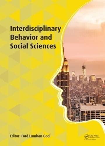 Interdisciplinary Behaviour and Social Sciences: Lumban Gaol, Ford
