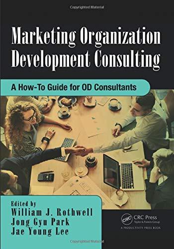 Marketing Organization Development: Rothwell, William J.;park,