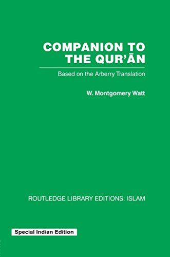 9781138033498: Companion to The Qur'an: Based on the Arberry Translation