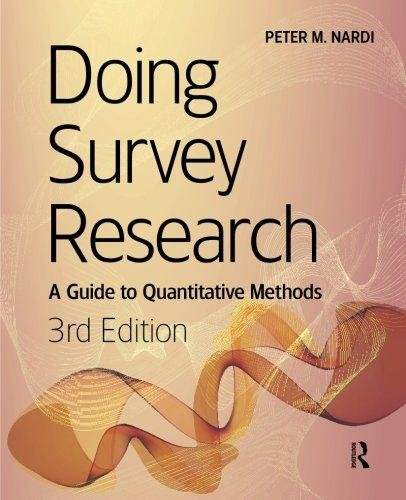 9781138046511: Doing Survey Research : A Guide To Quantitative Methods, 3 Edition