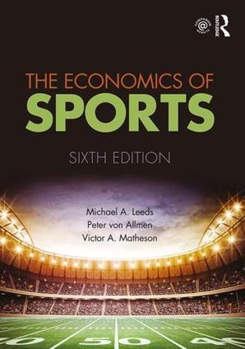 Download The Economics of Sports