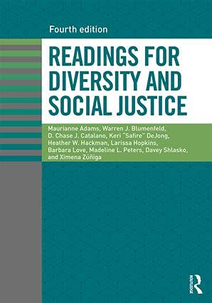 9781138055285: Readings for Diversity and Social Justice