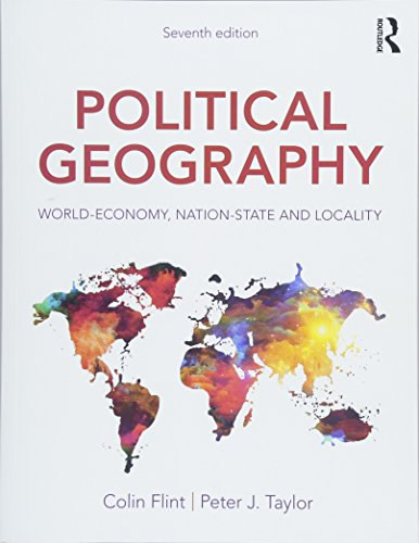 9781138058262: Political Geography: World-Economy, Nation-State and Locality