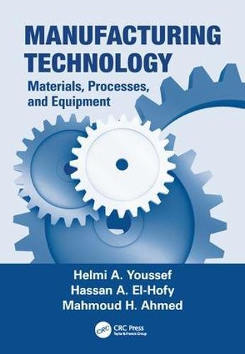 Manufacturing Technology: Materials, Processes, and Equipment: YOUSSEF, HELMI A.;