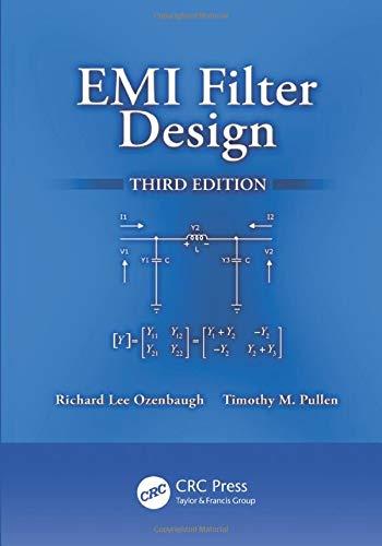 9781138074071: EMI Filter Design