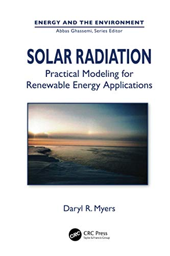 9781138075542: Solar Radiation: Practical Modeling for Renewable Energy Applications