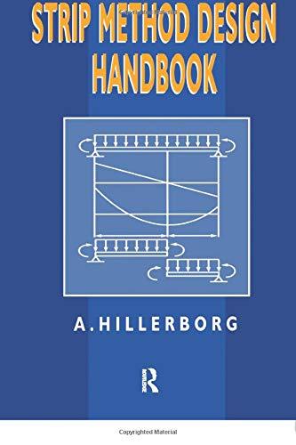 9781138075610: Strip Method Design Handbook